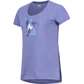 Marmot Post Time - T-shirt manches courtes Femme - violet